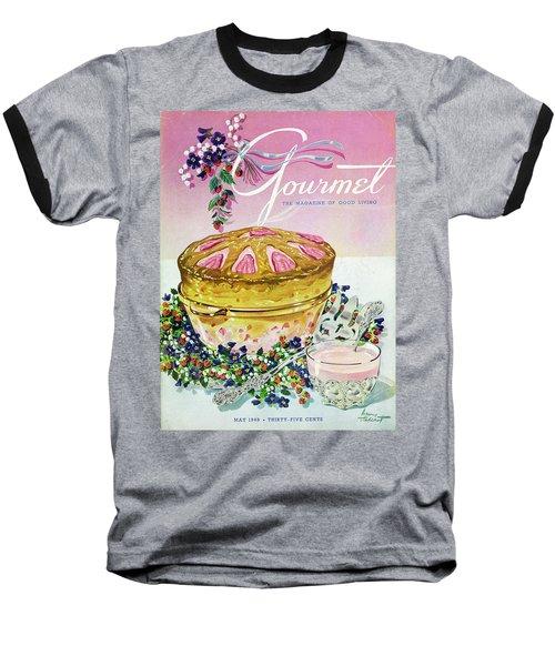 A Gourmet Cover Of A Souffle Baseball T-Shirt