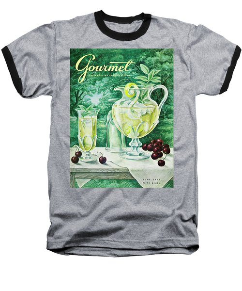 A Gourmet Cover Of Glassware Baseball T-Shirt
