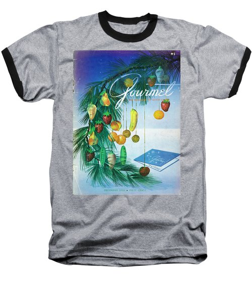 A Gourmet Cover Of Marzipan Fruit Baseball T-Shirt