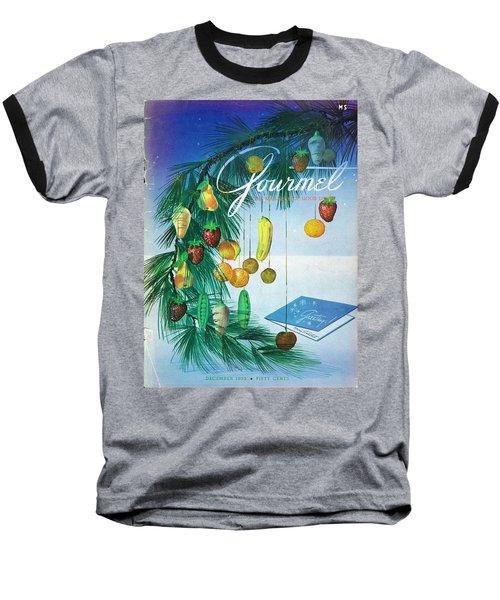 A Gourmet Cover Of Marzipan Fruit Baseball T-Shirt