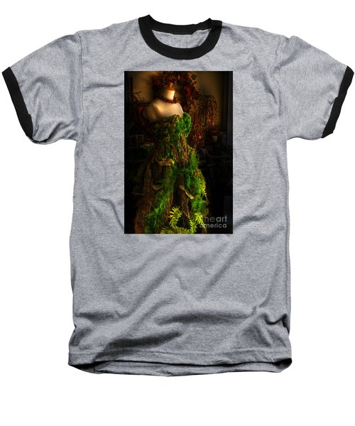A Gown For A Faerie Princess Baseball T-Shirt by William Fields