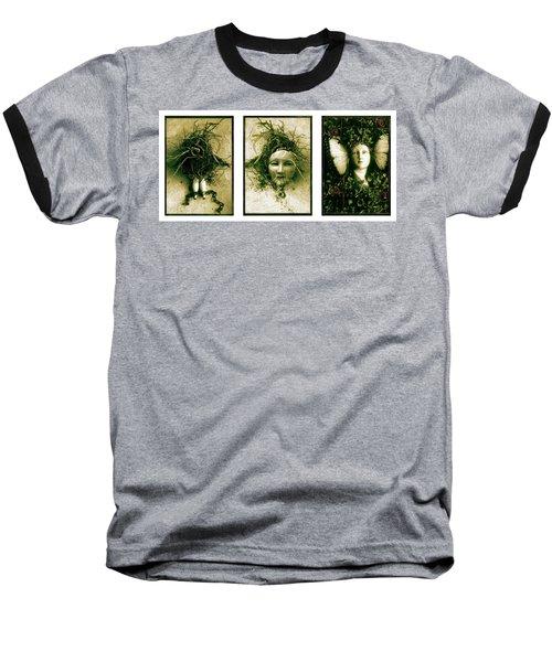A Graft In Winter Triptych Baseball T-Shirt