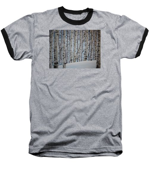 A Grove Of Aspens Baseball T-Shirt