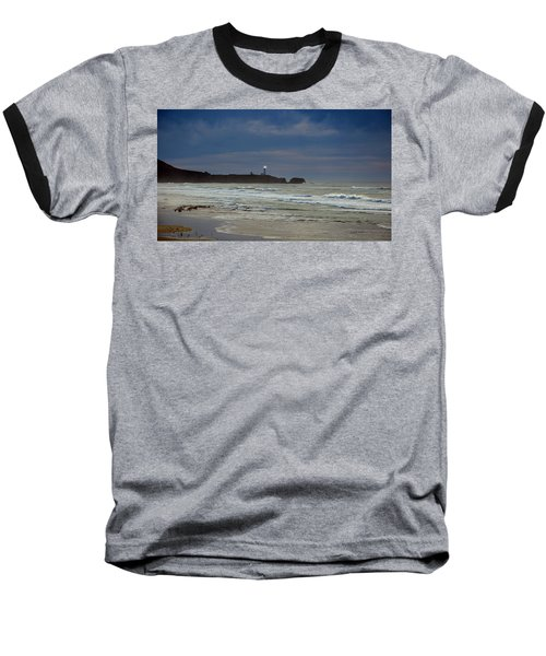 A Guiding Light Baseball T-Shirt by Jim Walls PhotoArtist