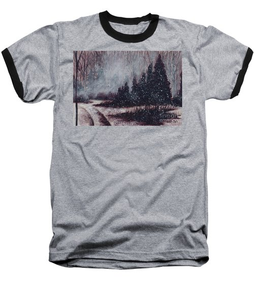 A Hazy Shade Of Winter  Baseball T-Shirt