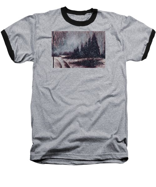 A Hazy Shade Of Winter  Baseball T-Shirt
