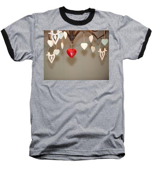 A Heart Among Hearts I Baseball T-Shirt