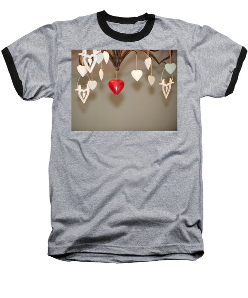 A Heart Among Hearts I Baseball T-Shirt