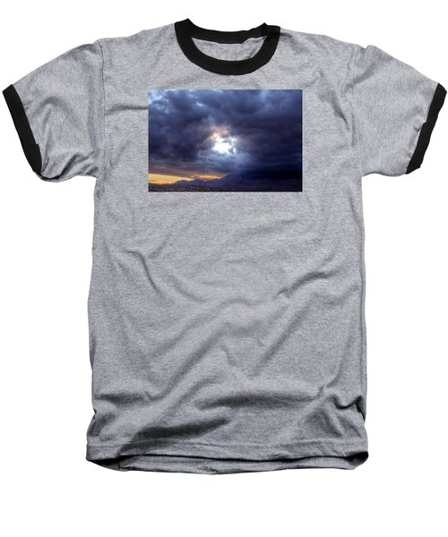 A Hole In The Sky Baseball T-Shirt