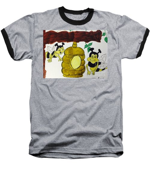 A Honey And The Bees Baseball T-Shirt