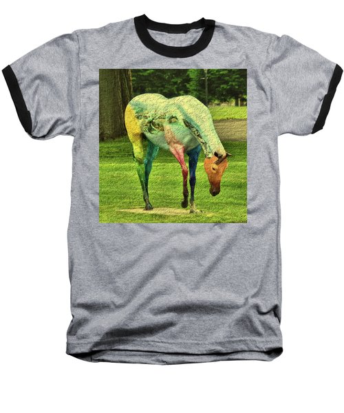 A Horse Is A Horse Baseball T-Shirt