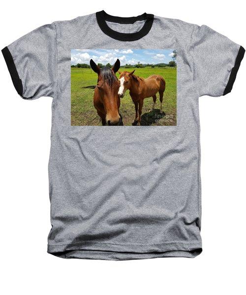 A Horse's Touch Baseball T-Shirt
