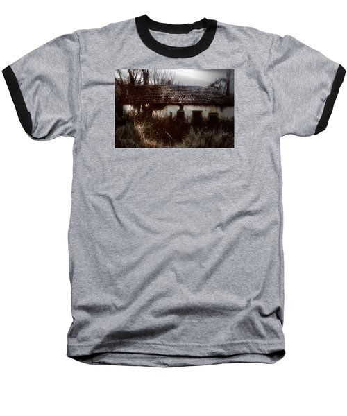 A House In The Woods Baseball T-Shirt by Mimulux patricia no No
