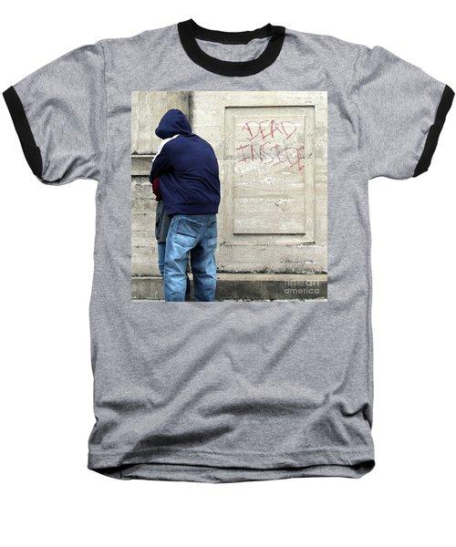 Baseball T-Shirt featuring the photograph A Hug by Joe Jake Pratt
