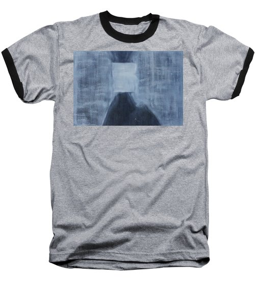 A Human Can Shed Tears Baseball T-Shirt by Min Zou