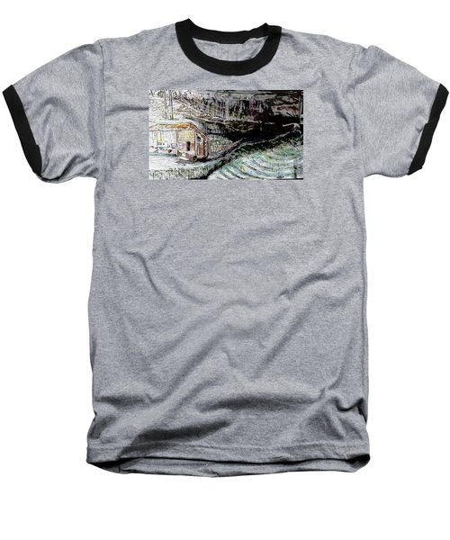 A Hut In The Valley  Baseball T-Shirt