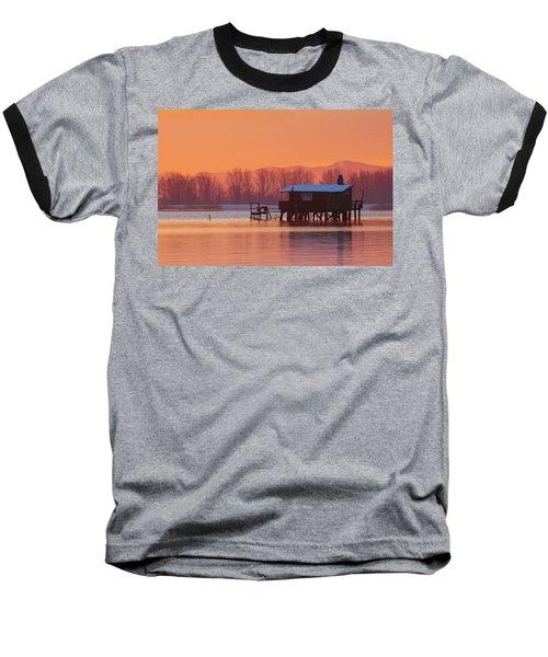 A Hut On The Water Baseball T-Shirt