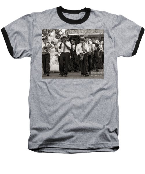 A Jazz Wedding In New Orleans Baseball T-Shirt
