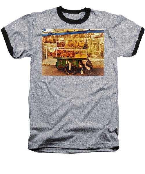 A Kaake Street Vendor In Beirut Baseball T-Shirt