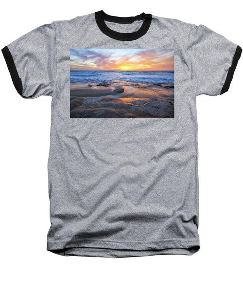 A La Jolla Sunset #1 Baseball T-Shirt