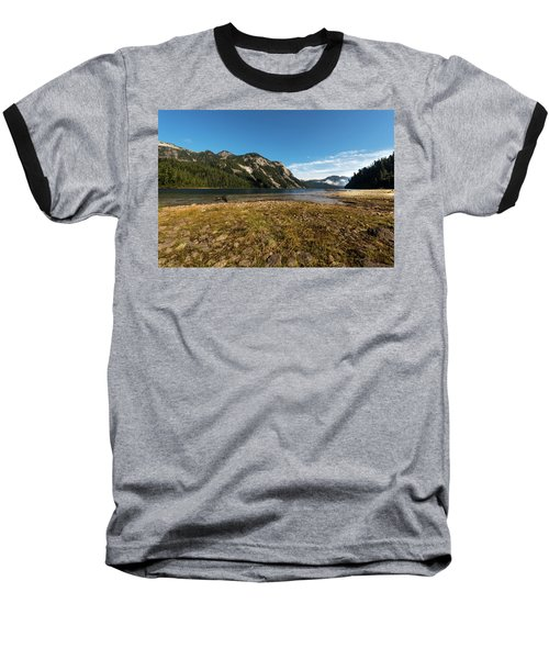 A Lake In The Mountains Baseball T-Shirt