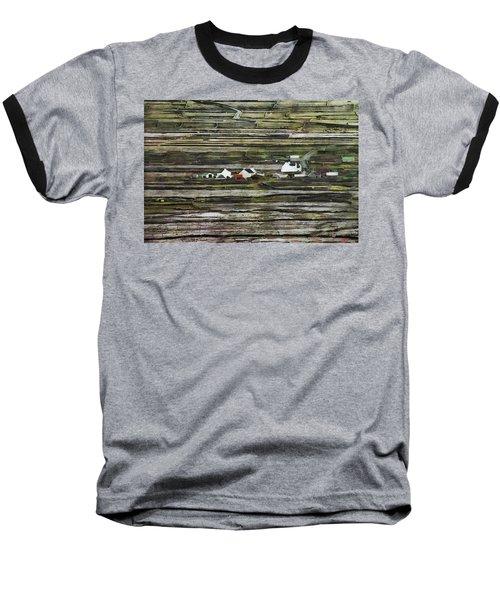 A Landscape With A Farm Baseball T-Shirt