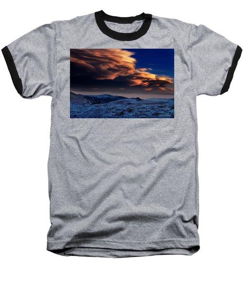 A Lenticular Landscape Baseball T-Shirt
