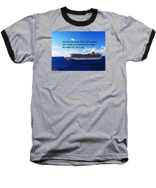 A Life Journey Baseball T-Shirt