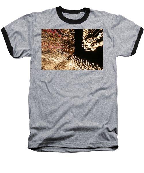 A Light Abstraction Baseball T-Shirt