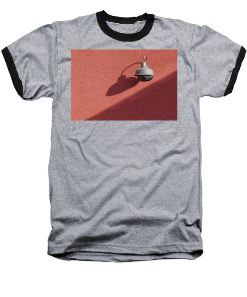 Baseball T-Shirt featuring the photograph A Light Alone by Paul Wear