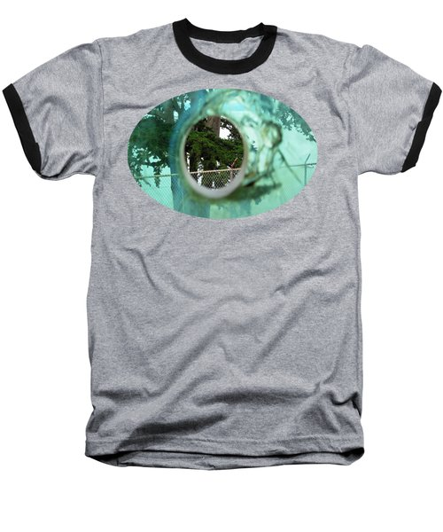 Baseball T-Shirt featuring the photograph A Limited Point Of View by Ethna Gillespie