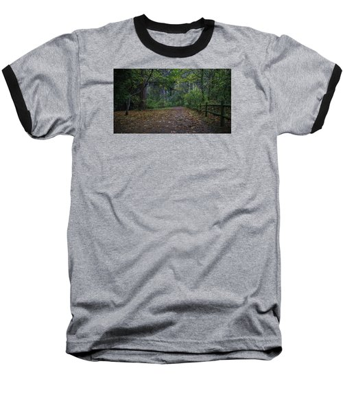 Baseball T-Shirt featuring the photograph A Lincoln Park Autumn by Ken Stanback