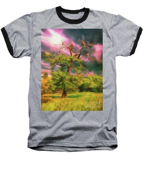 A Little Bit Worse For Wear Baseball T-Shirt
