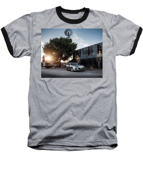 Baseball T-Shirt featuring the digital art Little Drop Of Sunshine by Douglas Pittman