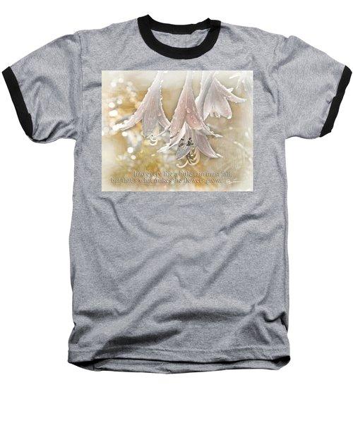A Little Rain Baseball T-Shirt