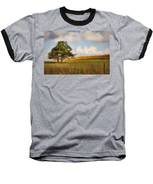 Baseball T-Shirt featuring the photograph A Little Shade by Lana Trussell