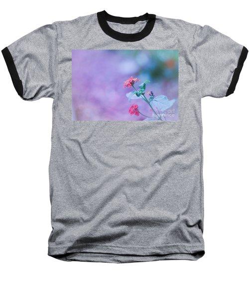 A Little Softness, A Little Color - Macro Flowers Baseball T-Shirt