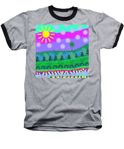 A Little Whimsy Baseball T-Shirt
