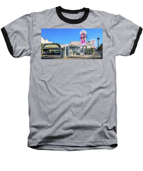 A Little White Chapel From The North 2 To 1 Ratio Baseball T-Shirt by Aloha Art