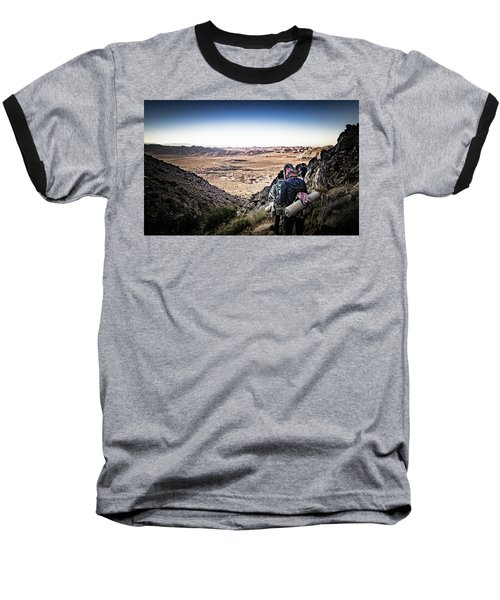 A Long Walk Through Joshua Tree Baseball T-Shirt