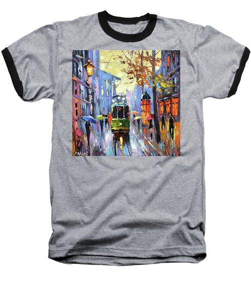A Lonley Tram  Baseball T-Shirt