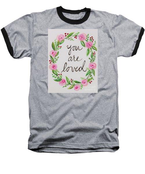 A Love Note Baseball T-Shirt