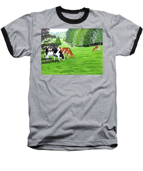 A Lush Summer Pasture Baseball T-Shirt