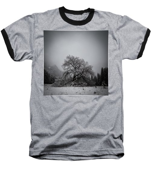 A Magic Tree Baseball T-Shirt by Lora Lee Chapman