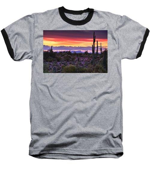 A Magical Desert Morning  Baseball T-Shirt