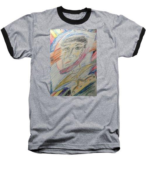 A Man And His Thoughts Baseball T-Shirt