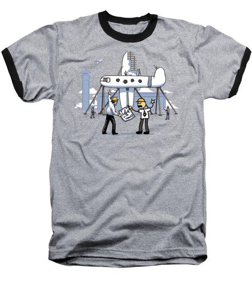 Baseball T-Shirt featuring the digital art A Matter Of Perspective by Ben Hartnett