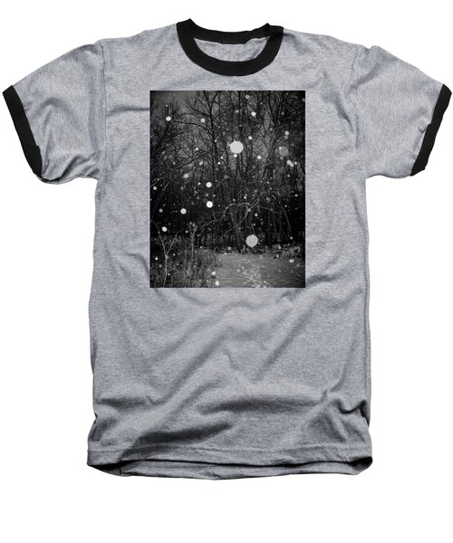 A Message Baseball T-Shirt by Annette Berglund