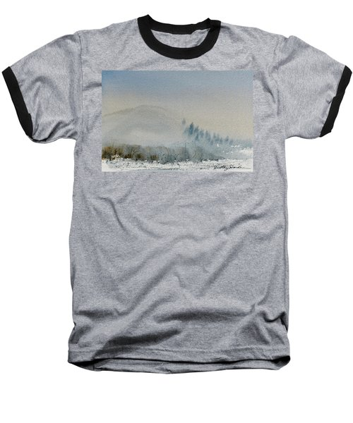 A Misty Morning Baseball T-Shirt