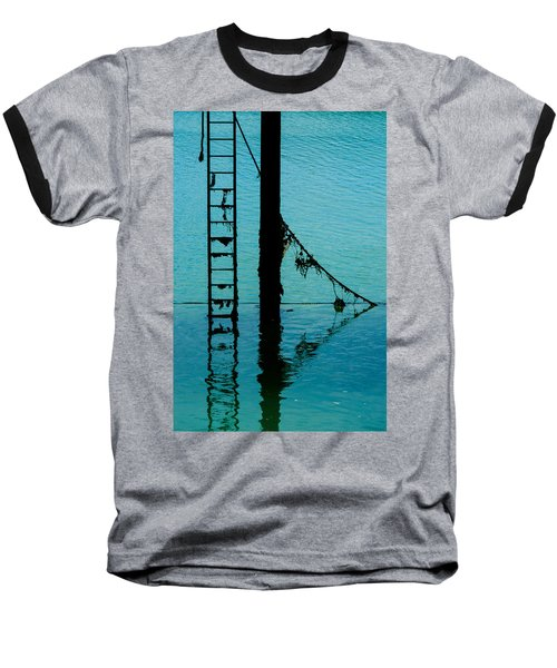 Baseball T-Shirt featuring the photograph A Modicum Of Maritime Minimalism by Chris Lord